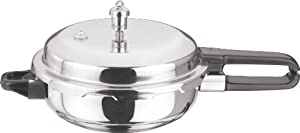 Vinod P-Mini Splendid Stainless Steel Sandwich Bottom Pressure Pan, Mini from Gandhi - Appliances