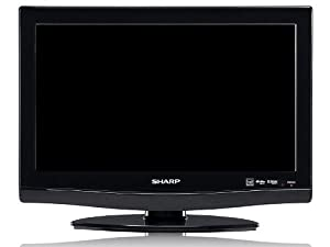 Sharp AQUOS LC19DV28UT 19-Inch LCD TV/DVD Combo (Black)