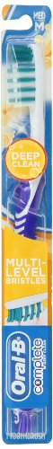 Oral-B Advantage Complete Deep Clean 40 (6 Manual Toothbrushes), Medium #34 (Mixed Colors)