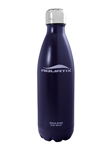 Blue 17 Oz Ultimate Sport Bottles Midnight Blue Personal Hydration Easy Best Ever Insulated Eco-friendly Water Bottle on Amazon Won't Leak or Sweat Try It Risk Free 100% Pure & Safe Stainless Steel Won't Rust or Crack, No Metal Taste, BPA & Toxin-free. Keep Drinks Cold 24 Hrs, Hot 12 Hrs Perfect for Yoga Soccer Basketball Fitness Exercise Football Golf Outdoor Hiking Rock Climbing Hunting Fishing Softball Baseball Maximum Chill Factor
