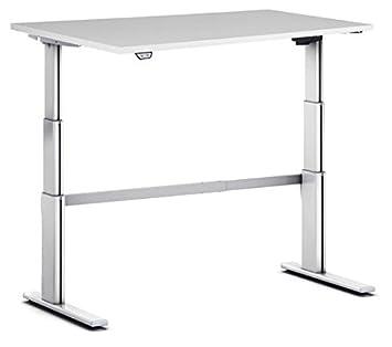 Mesa de escritorio con pantalla, diseño en 7 colores