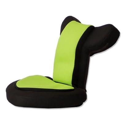 タンスのゲン 座椅子 ゲーム座椅子 低反発 リクライニング メッシュ 肘掛け バディー シャドウブラウン 16210002 DG