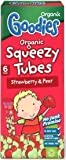 Organix Squeezy Tubes - Strawberry & Pear