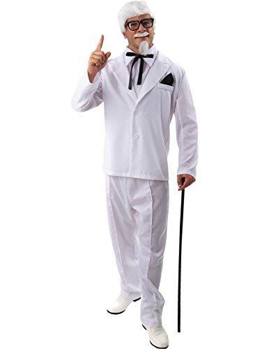 Adult Colonel Costume (Colonel Sanders Costume Wig)
