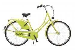 "Holland Nostalgie Damen ""Eco"" Fahrrad, neongrün, 50 cm"