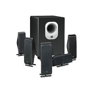 JBL 5.1-Channel Surround Cinema Speaker System with 10-Inch Subwoofer SCS500.5