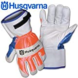 Husqvarna 505642209 Chain Saw Protective Gloves, Medium (Discontinued by Manufacturer)