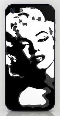 並行輸入品マリリン・モンロー society6 iphone 6/6PLUS ステッカー (iphone 6PLUS, Marilyn06)