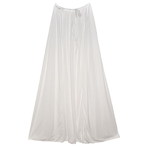 "SeasonsTrading 39"" White Cape ~ Halloween Costume Accessory"