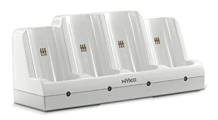 Wii Charge Station Quad [Amazon Frustration-Free Packaging]
