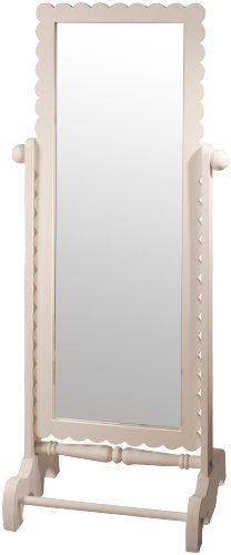 Sale new arrivals floor mirror white cheap low for Cheap white mirror