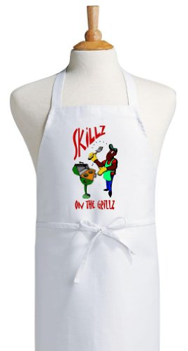 Skillz On The Grillz BBQ Aprons For Outdoor Cooking
