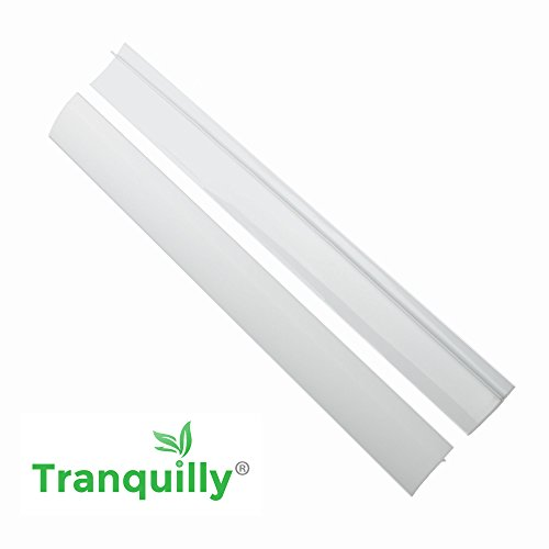 Tranquilly Silicone Stove Counter Gap Covers White (2 Pack) (Gas Stove Knobs White compare prices)