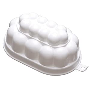 Kitchen Craft White Plastic Jelly Mould 0.5L