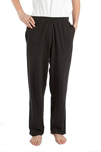 Pembrook Mens Jersey Knit Pants-4XL-Black