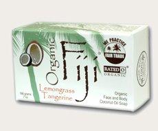 Coconut Oil Soap Organic Lemon Tangerine 7 Ounces