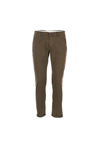 Pantalone Uomo Daniele Alessandrini 32 Verde Pj5565l5703631 Primavera Estate 2016
