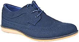 Pinellii Mens Casual Canvas Lace up B01LF2LNZC