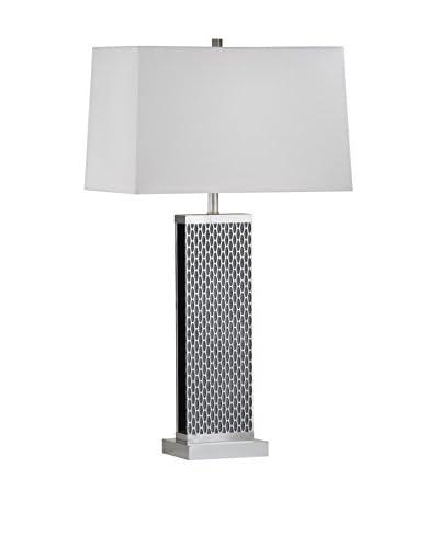 Nova Lighting Linx Table Lamp, Silver