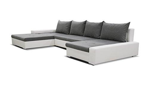 Bigsofa Caddy Wohnlandschaft Sofa Couch Ecksofa Eckcouch XXL 01320