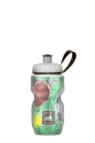Polar Bottle Insulated Water Bottle (Play Ball) (12 oz) - 100% BPA-Free Water Bottle - Perfect Cycling or Sports Water Bottle - Dishwasher & Freezer Safe (Polar Sport Bottle compare prices)