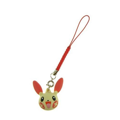 Pokemon Strap with Plusle Head Figure ***Free Domestic Standard Shipping For This Item!*** - 1