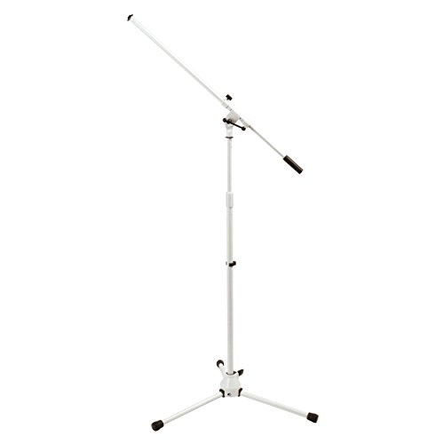 on-stage-ms7801w-euro-boom-microphone-stand
