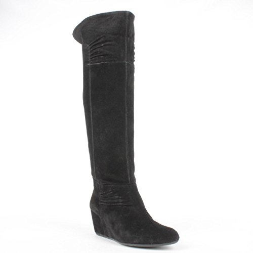 Nine West Amelie Womens Size 5.5 Black Suede Fashion Knee-High Boots New/Display