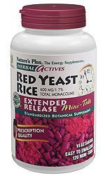 Herbal Actives Red Yeast Rice Extended Release - 120 Mini-Tabs