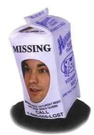 Original Adult Milk Carton Costume Hat - Hilarious Halloween Costume Fun