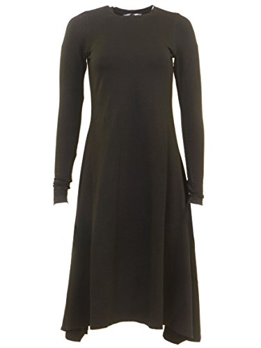 Hardtail Handkerchief Long Sleeve Dress (S)