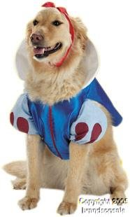 Pet Snow White Dog Costume For Small Dogs