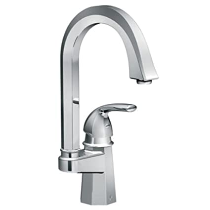Felicity Single handle Single Hole Single Mount Bar Faucet Finish: Chrome