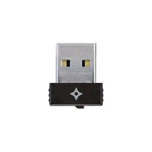 PLANEX 11ac/n/a 433Mbps 5GHz専用 USB2.0対応 無線LAN子機 超小型モデル GW-450S 手裏剣