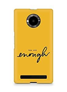 AMEZ you are enough Back Cover For YU Yupheria