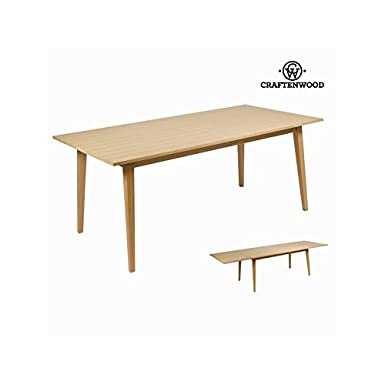 Table à ralloge wood - Collection Modern by Craftenwood