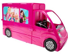 barbie glam camper toys games. Black Bedroom Furniture Sets. Home Design Ideas