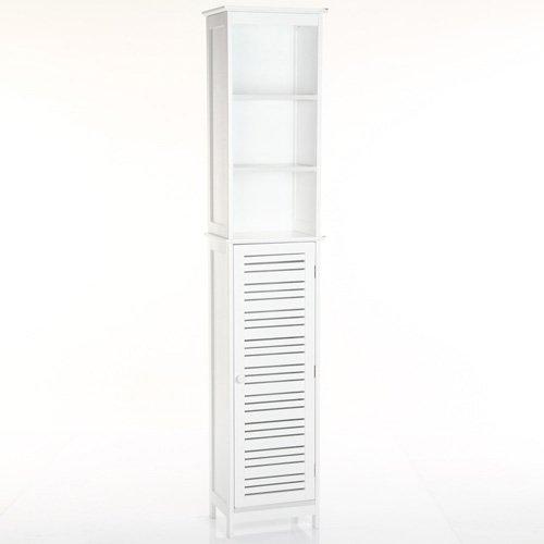Säulenschrank für Badezimmer, Weiß online bestellen