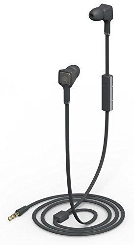 Ministry of Sound Audio In Auricolari In- Ear con Isolamento Acustico, Custodia Protettiva, Telecomando e Microfono In-Line, Nero/Antracite