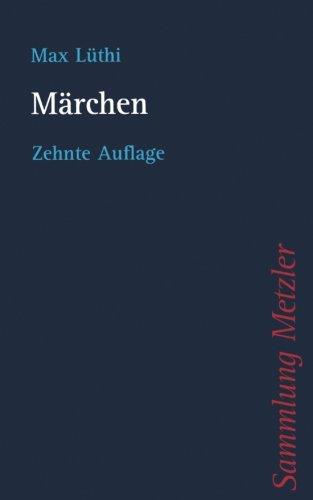 Marchen (Sammlung Metzler)  [Luthi, Max] (Tapa Blanda)