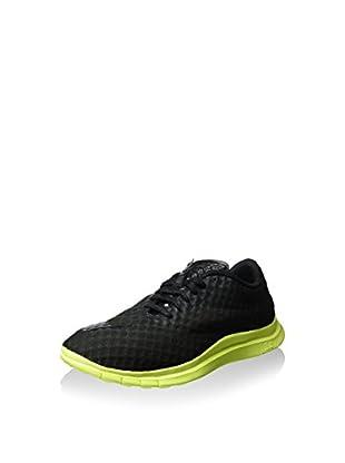 Nike Zapatillas Free Hypervenom (Negro / Lima)