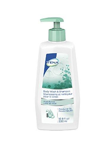 TENA Body Wash & Shampoo, Pump Bottle - 1/EACH by TENA