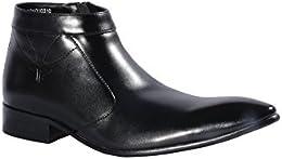 Pinellii Mens Formal Leather Slip on Boot B01LD7LPHU