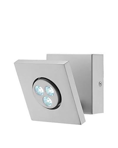Lite Source Zella LED Wall Lamp, Silver
