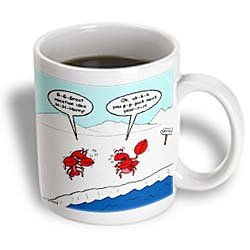 Lobster Bad Vacation Spots - 11oz Mug