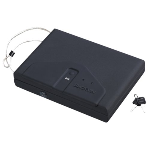 Stack-On Pc-650-B Portable Locking Case With Biometric Lock front-54559