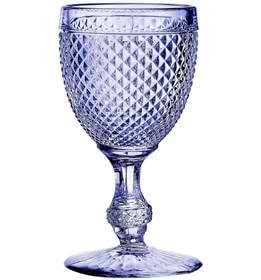 Amazon.com   Vista Alegre Bicos Set 4 Goblets Lavender: Goblets