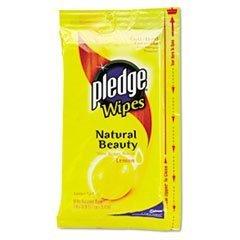 pledge-furniture-lemon-scent-wet-wipes-cloth-7-x-10-white-18-pack-by-pledge
