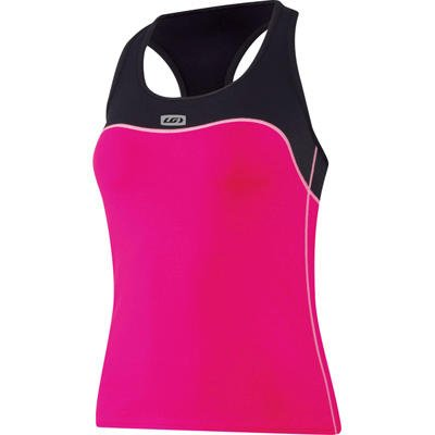 Buy Low Price Louis Garneau 2010/11 Women's Flow Run Singlet – Pink Sorbet – 1025120-610 (B001OOCNNI)