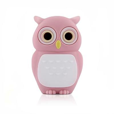 4GB Pink OWL USB Flash Memory Drive by JellyFlash